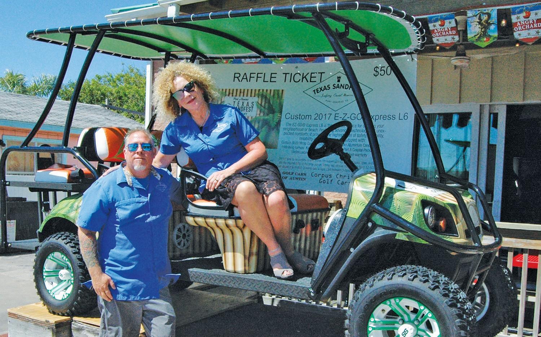 Win this golf cart! | portatexassandfest